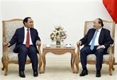 Le Premier ministre vietnamien reçoit un vice-Premier ministre laotien