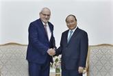 Le chef du gouvernement vietnamien reçoit le Pdg de la Société financière internationale