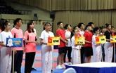 Ouverture du Championnat d'Asie de taekwondo élargi à Hô Chi Minh-Ville