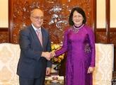 La vice-présidente vietnamienne reçoit un officiel allemand de léducation