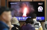 Kim Jong Un supervise une nouvelle fois le tir d'essai d'une nouvelle arme