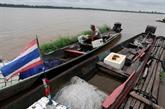Thaïlande: le niveau du Mékong augmente régulièrement