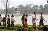 Hanoï: hausse annuelle de plus de 10% du nombre de touristes
