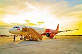 Les revenus du transport aérien de Vietjet en hausse