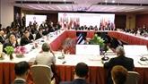 Sommet d'Asie de l'Est: les ministres des Affaires étrangères se réunissent