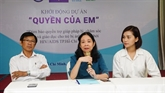 Hô Chi Minh-Ville lance le projet Droits des enfants