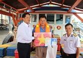 Lancement d'un programme pour renforcer l'appui de la Marine vietnamienne aux pêcheurs