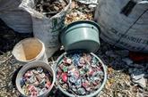 Les montagnes de déchets importés,