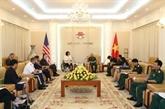 Vietnam et États-Unis promeuvent leur coopération dans la défense