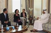 Une délégation du Parti en visite de travail au Qatar