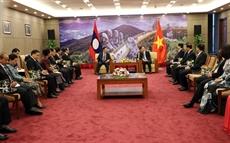 Un vice-président de lAssemblée nationale du Laos à Dà Nang