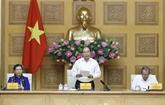 Préparation du XIIIe Congrès national du Parti: réunion du sous-comité socio-économique