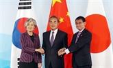 La Chine appelle à renforcer la coopération avec la République de Corée et le Japon