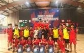 Mondial de plumfoot 2019: deux médailles d'or pour le Vietnam