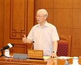 Le chef du Parti préside le sous-comité du personnel du XIIIe Congrès