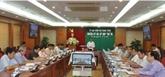 La Commission du contrôle du Comité central du Parti tient sa 38e réunion