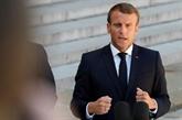 Macron reçoit Zarif pour chercher des avancées sur le nucléaire iranien au G7