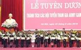 Jeux militaires internationaux 2019: les soldats primés vietnamiens à l'honneur
