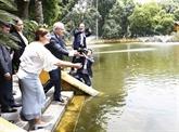 Le Premier ministre australien termine sa visite officielle au Vietnam