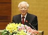Nguyên Phu Trong adresse une lettre de félicitations au président de l'AIPA 40