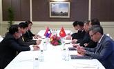 Le Vietnam intensifie la coopération parlementaire avec la R. de Corée et le Laos