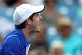 Murray gagne son premier match de simple depuis son retour de blessure