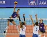 Euro-2019 de volley: les Françaises cèdent face aux Serbes en remportant un set