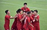 Ouverture de la Coupe internationale Acecook 2019 de football U15