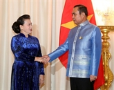 Entrevue entre la présidente de l'AN du Vietnam et le Premier ministre thaïlandais