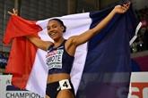 Athlétisme: Lemaitre, Bascou et Lamote retenus pour les Mondiaux