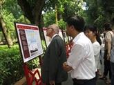 Archives: exposition sur l'Oncle Hô à Hanoï