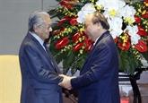 La visite au Vietnam du Premier ministre malaisien couronnée de succès