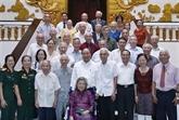 Rencontre des cadres ayant servi le Président Hô Chi Minh