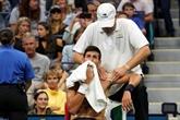 US Open: Djokovic se qualifie pour le 3e tour malgré une épaule douloureuse