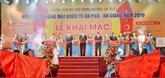 Ouverture de la foire commerciale internationale An Phu - An Giang 2019
