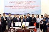Le Vietnam et la R. de Corée dynamisent leur coopération dans le travail