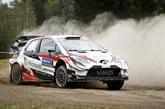 Rallye de Finlande: Latvala garde la tête, Tänak marque un peu le pas