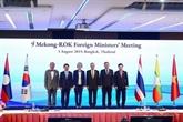 Les ministres des AE du Mékong et de la R. de Corée se réunissent à Bangkok