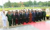 Hommage au Président Hô Chi Minh à l'occasion de la Fête nationale