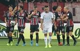 Ligue Europa: Strasbourg balayé et éliminé à Francfort