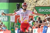 Tour d'Espagne: l'étape pour Jesus Herrada, Teuns nouveau leader