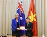 Hô Chi Minh-Ville et l'Australie renforcent leur coopération dans l'agriculture de haute technologie
