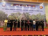 Nguyên Thi Kim Tiên à la 8e réunion des ministres de la Santé de l'ASEAN+3