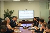 Une délégation de l'Audit d'État du Vietnam aux États-Unis