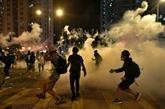Nouvelles manifestations à Hong Kong après les heurts dans un quartier touristique