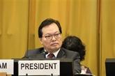 Le Vietnam soutient tous les efforts de désarmement nucléaire