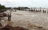 Kiên Giang: de fortes pluies causent de lourds dégâts