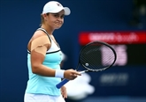 WTA: la N°1 mondiale Barty sorti d'entrée par Kenin à Toronto