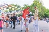 Une palette de programmes promotionnels au parc Dâm Sen
