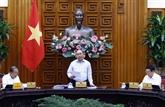 Le PM préside une réunion pour la préparation du XIIIe Congrès national du Parti